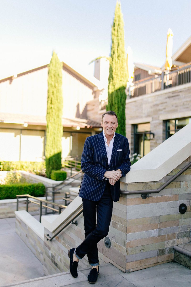 Colin Cowie at the Rosewood Sand Hill