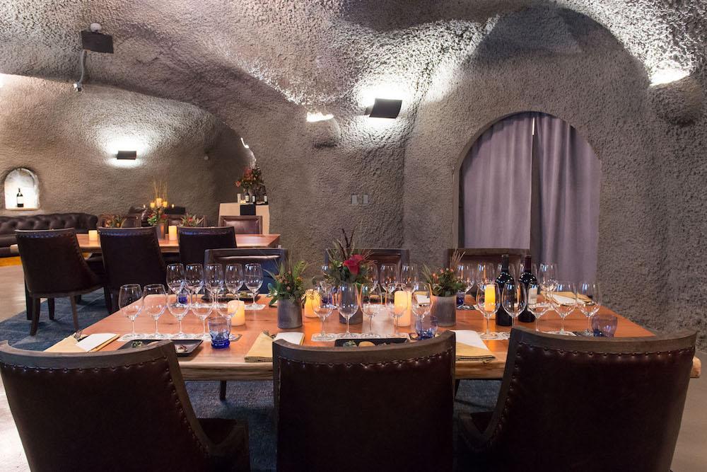 Pine Ridge Vineyard's new tasting room