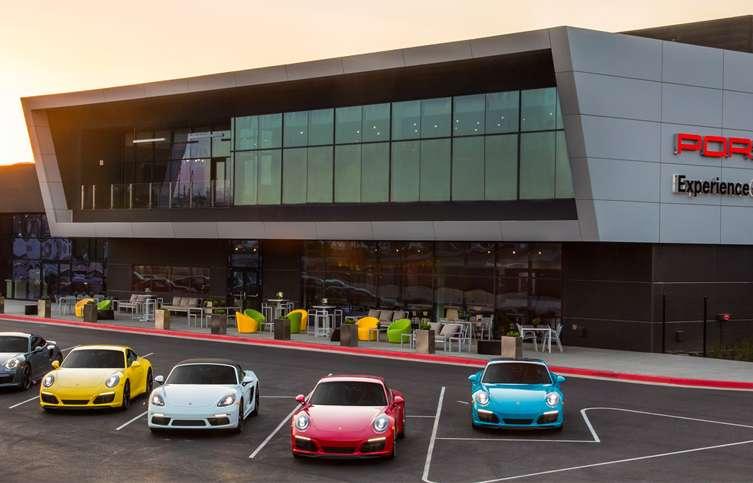 The Porsche Experience Center