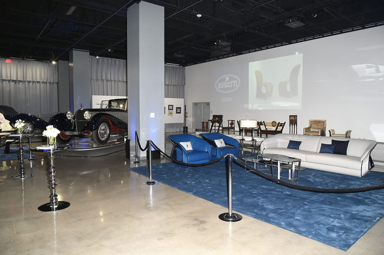 Inside the Bugatti Home Collection launch at the Petersen Automotive Museum