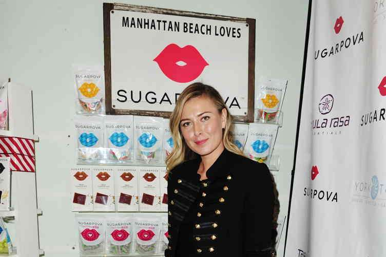 Maria Sharapova celebrates Sugarpova at Tabula Rasa Essentials