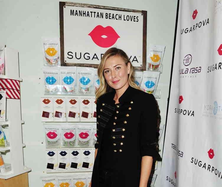 Maria Sharapova celebrates Sugarpova at Tabula Rasa Essentials