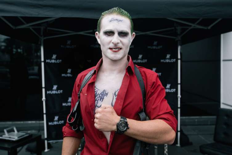 Brett David as The Joker