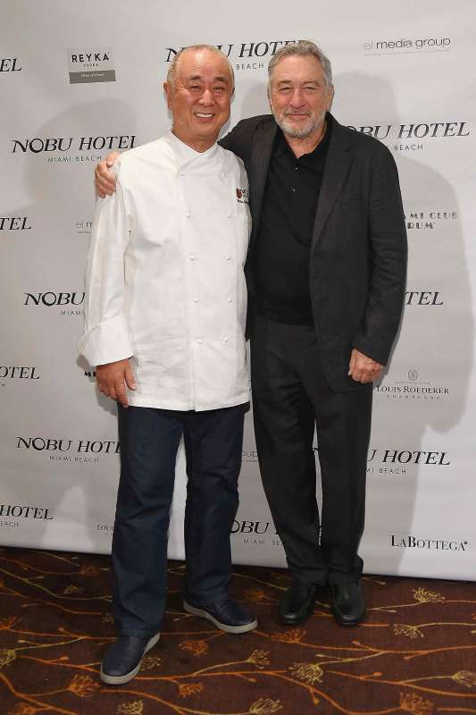 Chef Nobu and Robert De Niro