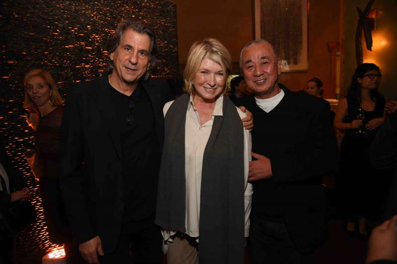 David Rockwell, Martha Stewart and Chef Nobu