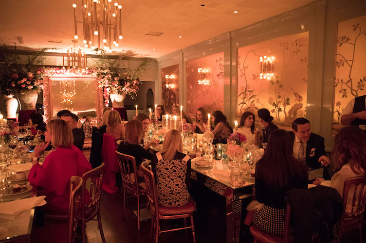 Nikita Kahn, Joel Goodrich and Mary Gonsalves Kinney host a Private Dinner at Park Tavern
