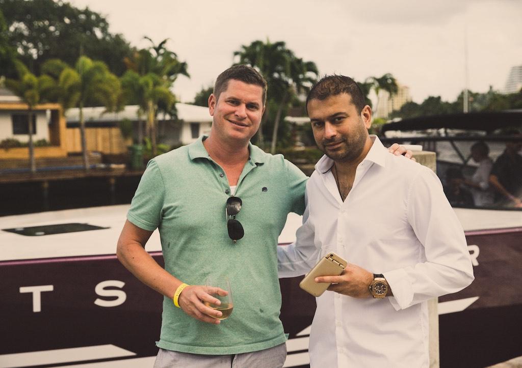 Andrew Ashcroft and Kamal Hotchandani