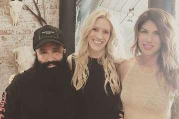 Sandy Poirier, Sonia Tita Puopolo, Maria Christine Dopoulos at SHAG