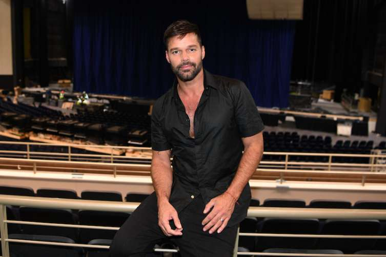 Ricky Martin plans performances at the new Park Theater in 2017.