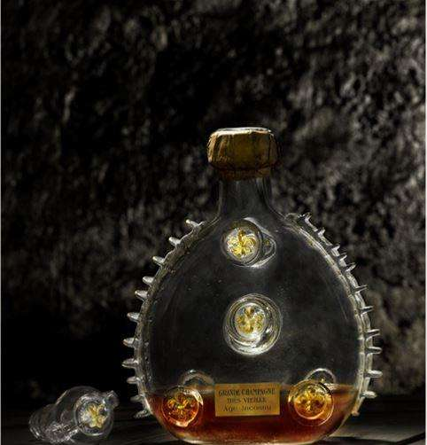 Louis XIII's original decanter.