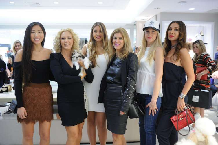Mei Salas, Angela Birdman, Paulina Claure, Laurie Sobel, Jillian Posner, & Andreea Baclea