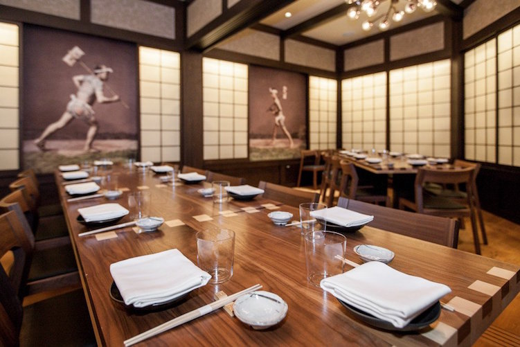 Michael Mina s Japanese eatery  Pabu  has two private dining rooms   Oniichan and Otouto  Each is separated from the restaurant by white and  wooden shoji. Best Private Dining Rooms in SF