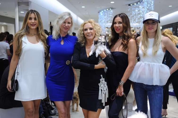Paulina Claure, April Donelson, Angela Birdman, Andreea Baclea, & Jillian Posner