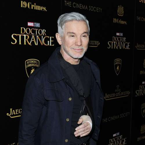 "NEW YORK, NY - NOVEMBER 1: Baz Luhrmann attends the Lamborghini with The Cinema Society, Jaeger-LeCoultre & 19 Crimes Wines Host a Screening of Marvel Studios' ""Doctor Strange"" at AMC Empire on November 1, 2016 in New York City. (Photo by Paul Bruinooge/Patrick McMullan via Getty Images) *** Local Caption *** Baz Luhrmann"