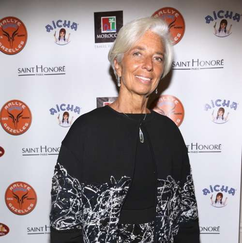 Christine Lagarde== US Launch of the 27th Rallye Aicha des Gazelles du Maroc with Special Guest Christine Lagarde== Rotisserie Georgette, NYC== November 3, 2016== ©Patrick McMullan== Photo - Sylvain Gaboury/PMC== ==