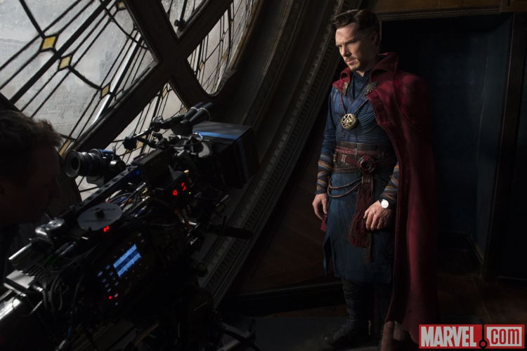 REDoctor Strange wearing his Jaeger-LeCoultre Master Ultra Thin Perpetua