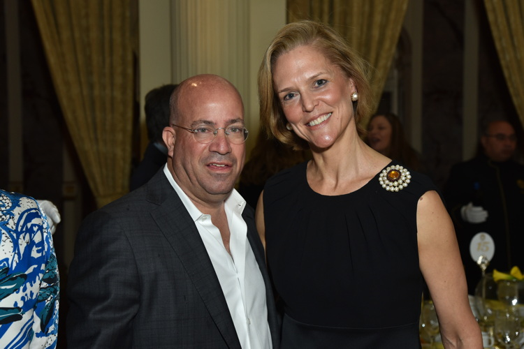 Jeff Zucker and Louisa Benton