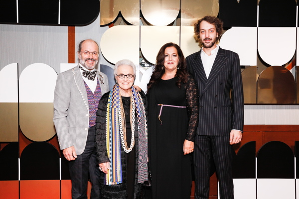 Luca Missoni, Rosita Missoni, Angela Missoni, Francesco Maccapani