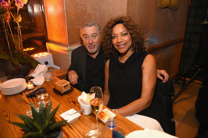 NEW YORK, NY - NOVEMBER 07: Actor Robert DeNiro and Grace Hightower DeNiro attend Nobu Hotel Miami Beach launch VIP cocktail at Nobu Next Door on November 7, 2016 in New York City. (Photo by Ben Gabbe/Getty Images for Nobu Hotel Miami Beach) *** Local Caption *** Robert DeNiro;Grace Hightower DeNiro