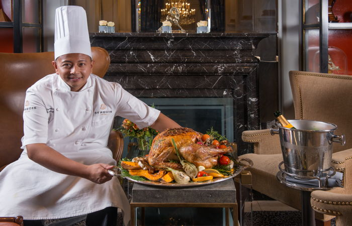 St Regis New York Executive Chef James Ortiega