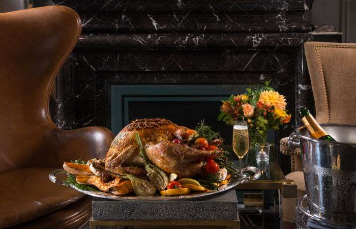 Thanksgiving turkey at the St. Regis New York