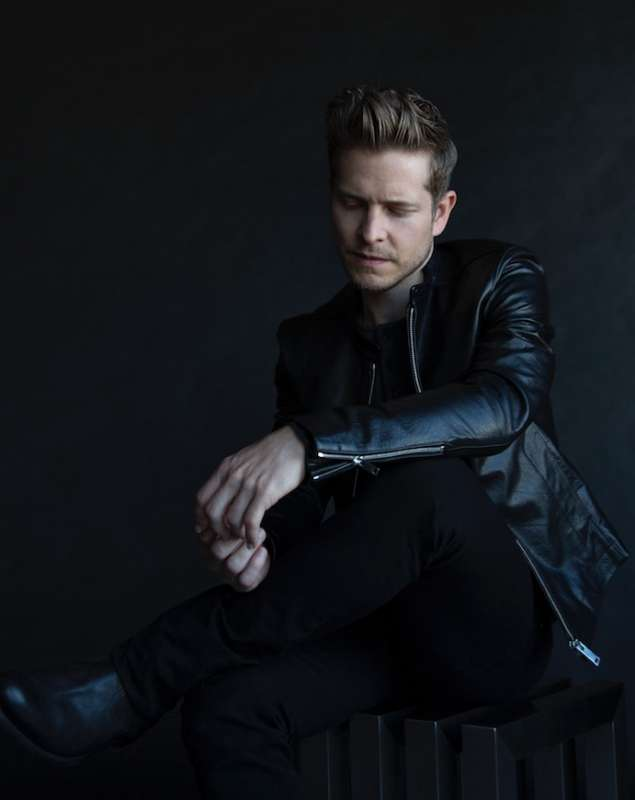 Leather jacket: SANDRO @BLOOMINGDALES Pants: DIOR Shirt: SANDRO @BLOOMINGDALES Shoes: PAUL SMITH