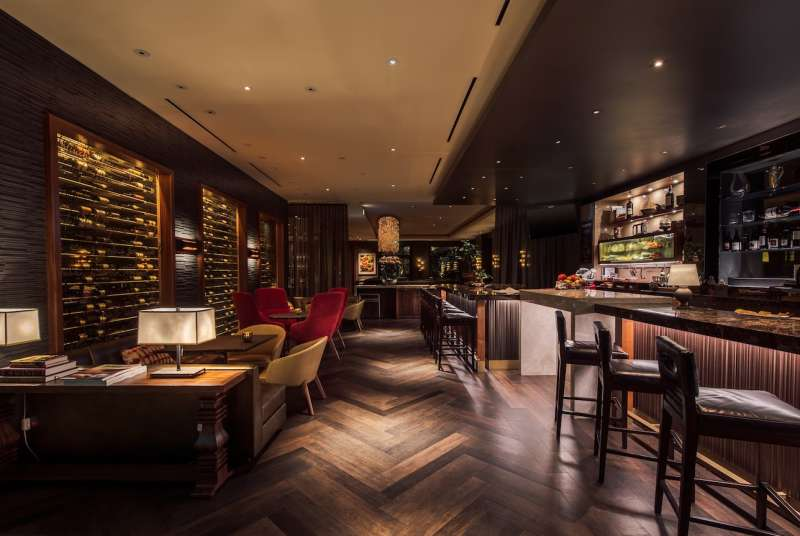 The Four Seasons at Beverly Hills' stunning wine bar, Vinoteca