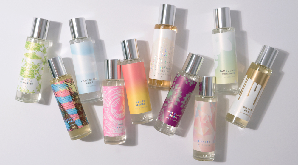 Pinrose's fragrances