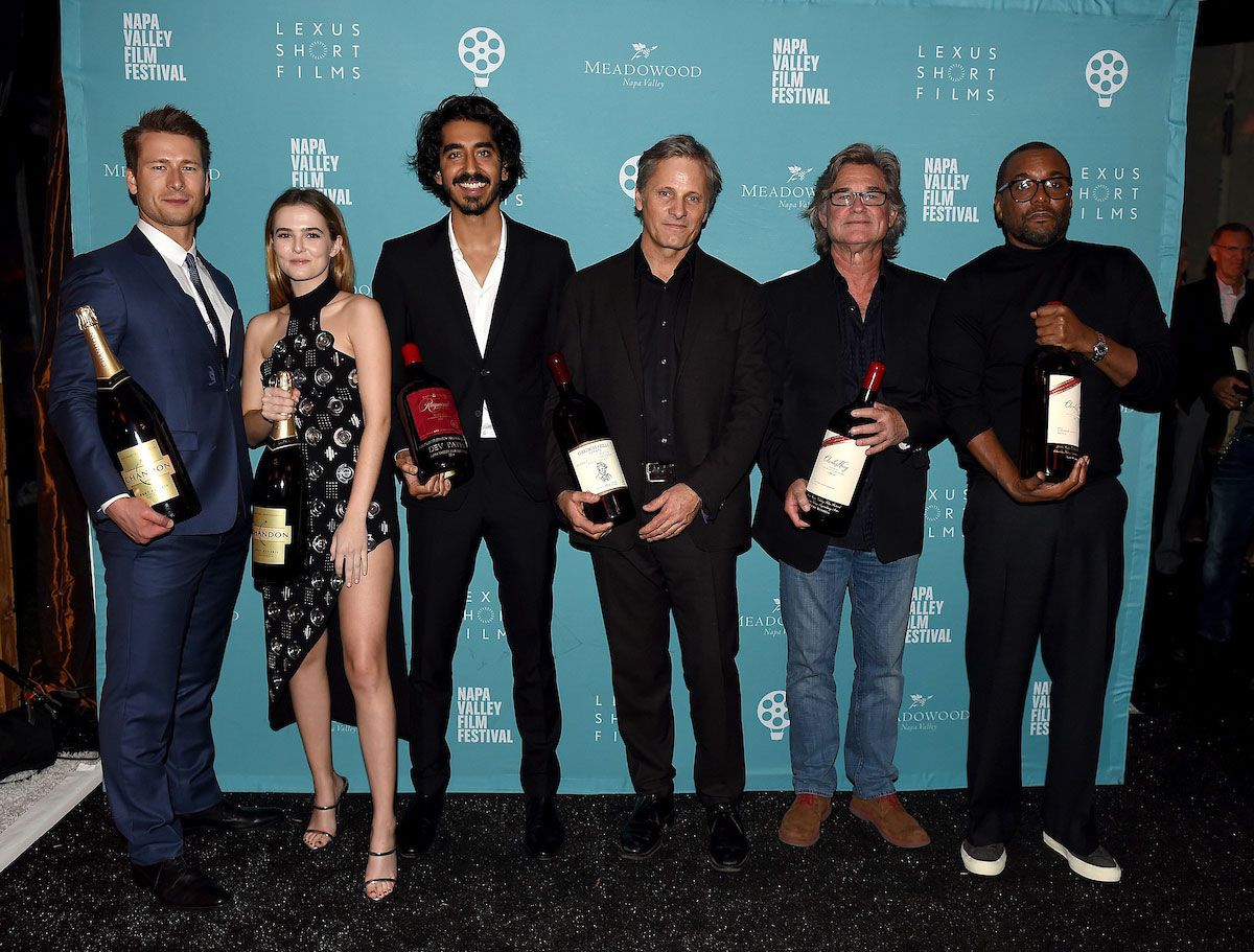 Glen Powell, Zoey Deutch, Dev Patel, Viggo Mortensen, Kurt Russell, and Lee Daniels