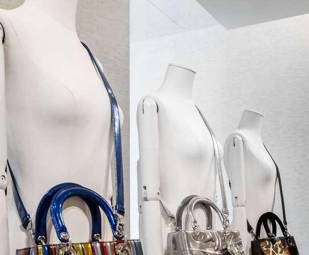 Dior Lady Art purses.