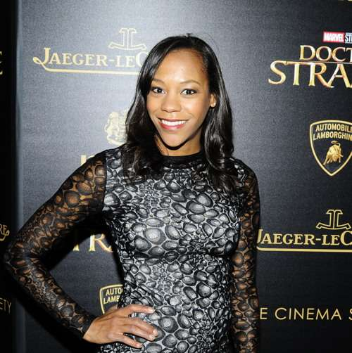 "NEW YORK, NY - NOVEMBER 1: Nikki M. James attends the Lamborghini with The Cinema Society, Jaeger-LeCoultre & 19 Crimes Wines Host a Screening of Marvel Studios' ""Doctor Strange"" at AMC Empire on November 1, 2016 in New York City. (Photo by Paul Bruinooge/Patrick McMullan via Getty Images) *** Local Caption *** Nikki M. James"