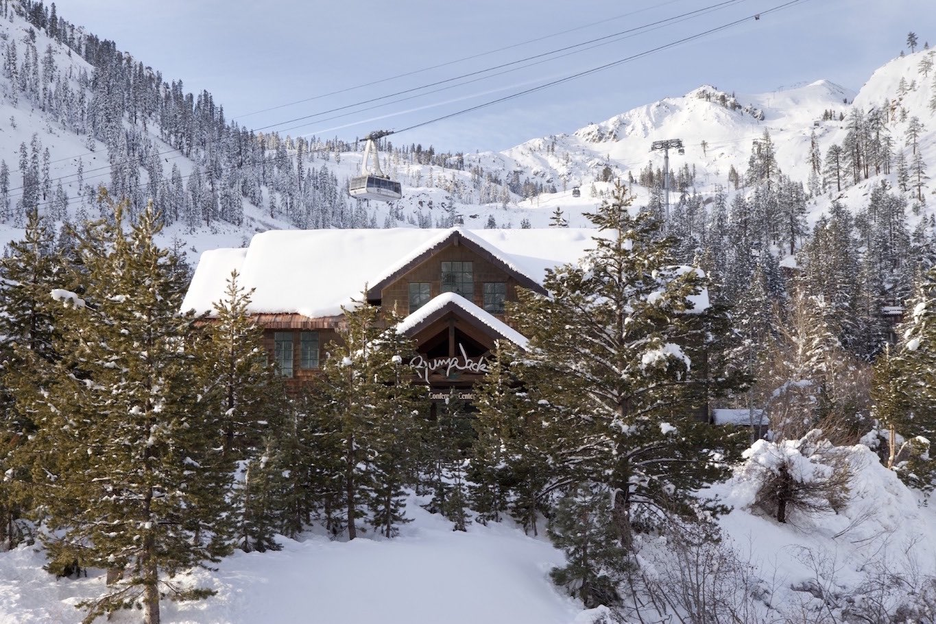 """I'm very emotionally attached to Squaw Valley. I'm devoted to that location. Squaw has just stolen my heart,"" Newsom says of the Tahoe destination."