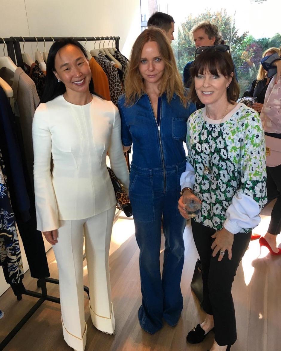 Dr. Carolyn Chang, Stella McCartney, and Allison Speer