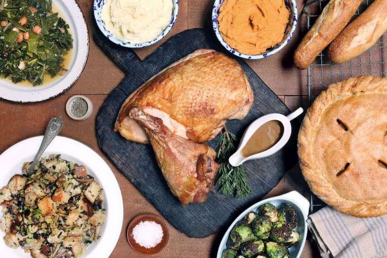 Belcampo's Thanksgiving spread