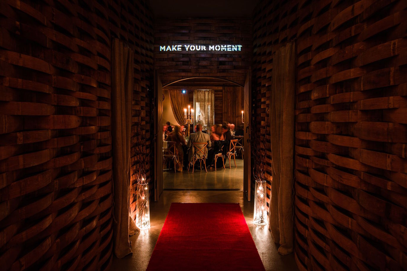 A vintner dinner at the 2015 NVFF