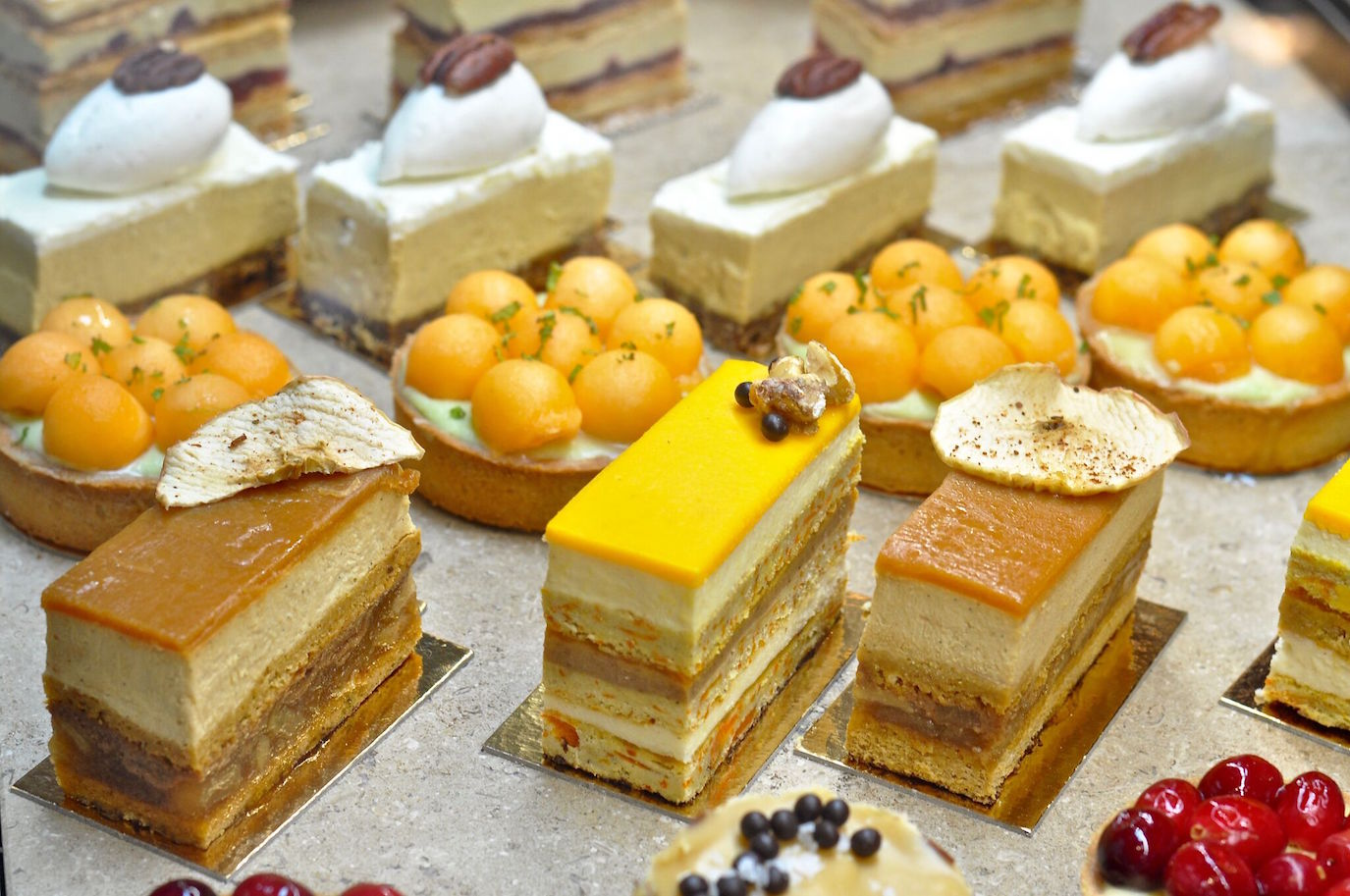 Seasonal pastries at Le Marais Bakery