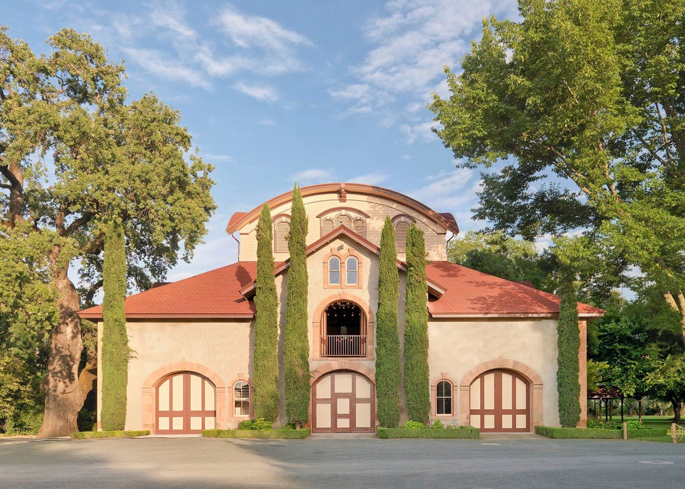 The carriage house at Charles Krug will transform into a screening site