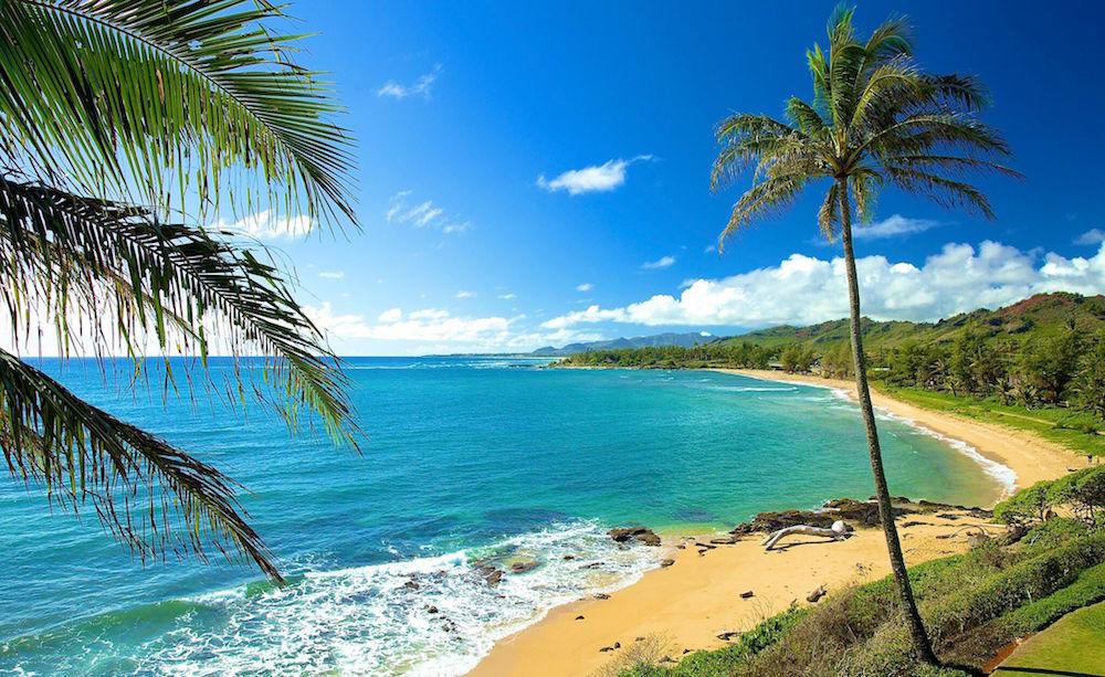 Wailua Bay in Kauai