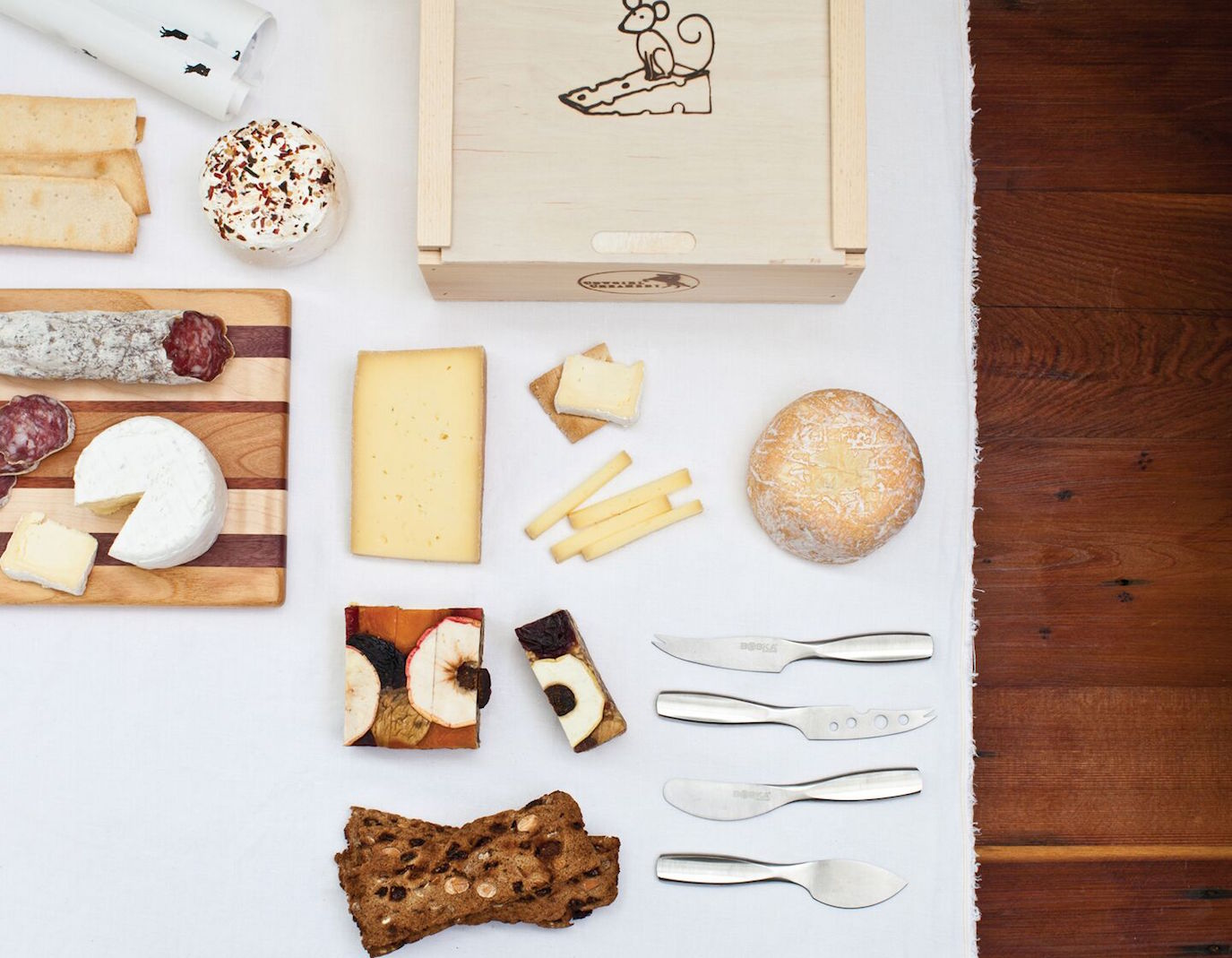 Cheese supplies can be found at Cowgirl Creamery