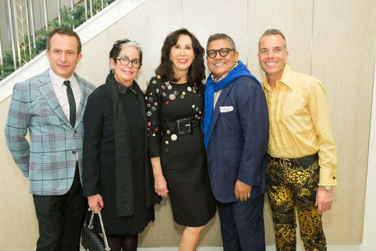 Jorge Maumer, Karen Kubin, Carolyn Chandler, Riccardo Benavides and Roman Gronkowski