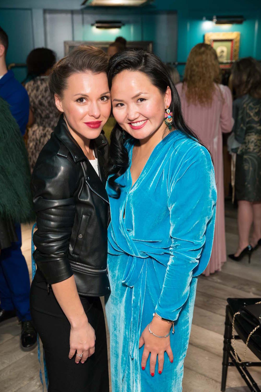 Albina Mingaleeva and Major Obsessions designer, Altana Danzhalova