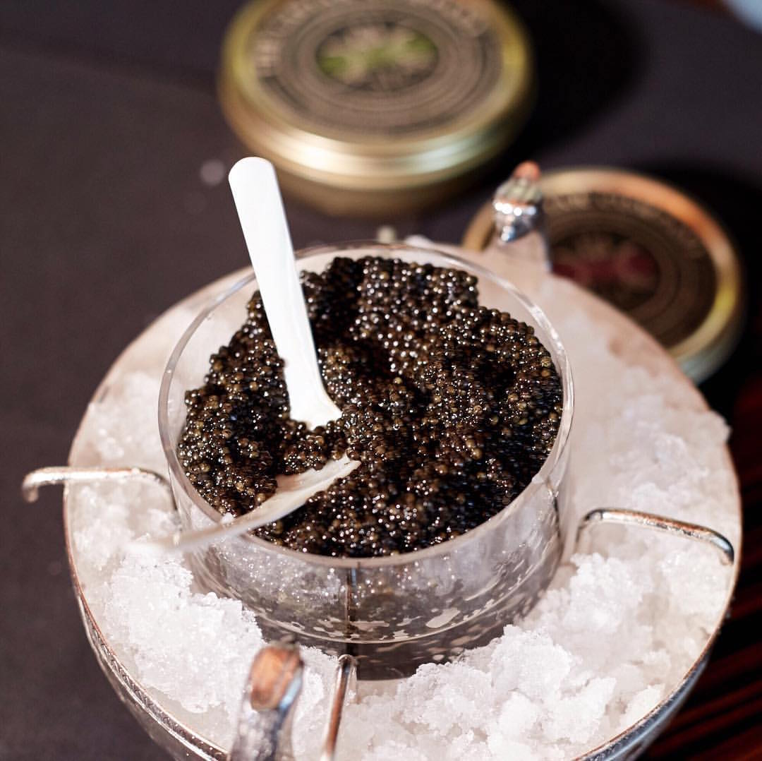 A tin of caviar from the Caviar Company