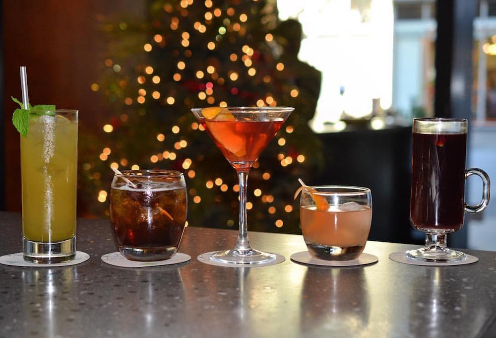 Holiday cocktails at Bluestem Brasserie