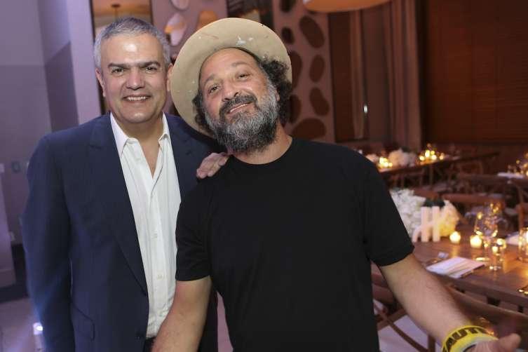 Ricardo Guadalupe and Mr Brainwash