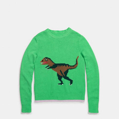 Coach Rexy Intarsia Sweater $695