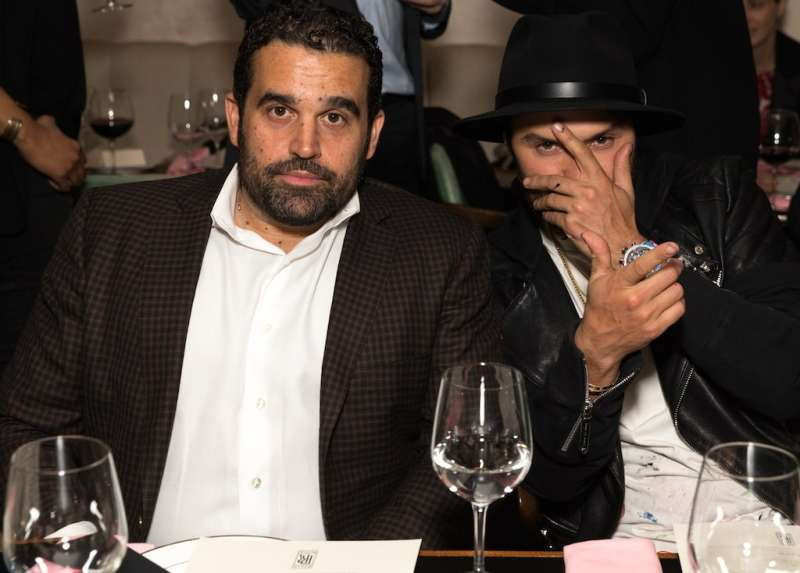 WEST HOLLYWOOD, CA - DECEMBER 07: Co-Founder Seth Semilof and artist Alec Monopoly attends the Haute Living Celebrates San Francisco's Lee Daniels Cover Launch with Louis XIII and Rolls-Royce at Delilah on December 7, 2016 in West Hollywood, California. (Photo by Rochelle Brodin/Getty Images for Haute Living)