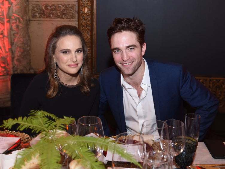 Natalie Portman and actor Robert Pattinson attend the 2016 Los Angeles Dance Project Gala