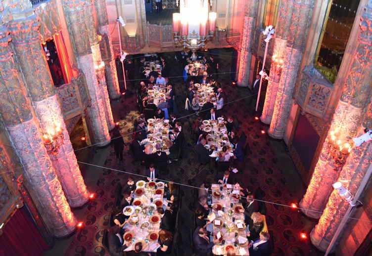 A general view of atmosphere at the 2016 Los Angeles Dance Project Gala at The Theatre at Ace Hotel