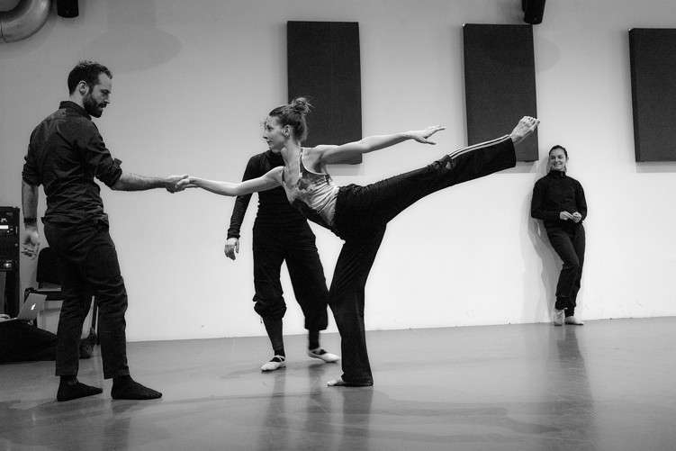 Millepied directs his dancers