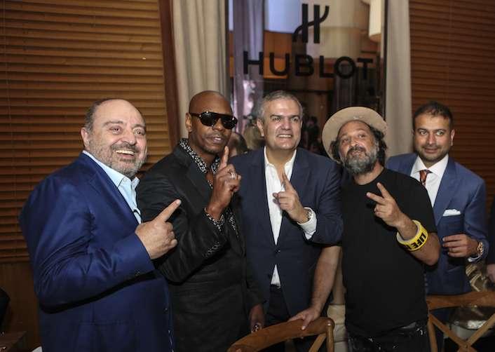 CC, Dave Chapelle, Ricardo Guadalupe, Mr. Brainwash, Kamal Hotchandani